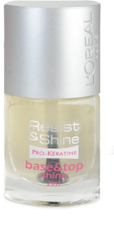 L\'Oréal Paris Resist And Shine, esmalte de uñas multifuncional con ...