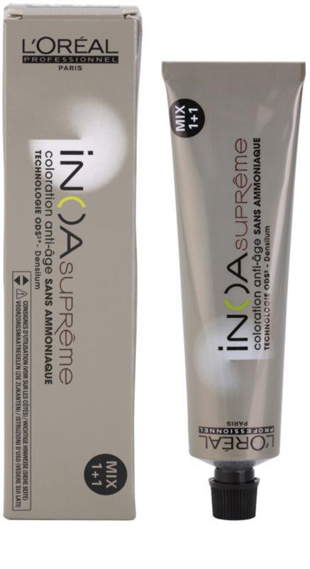 Coloration cheveux sans ammoniaque inoa