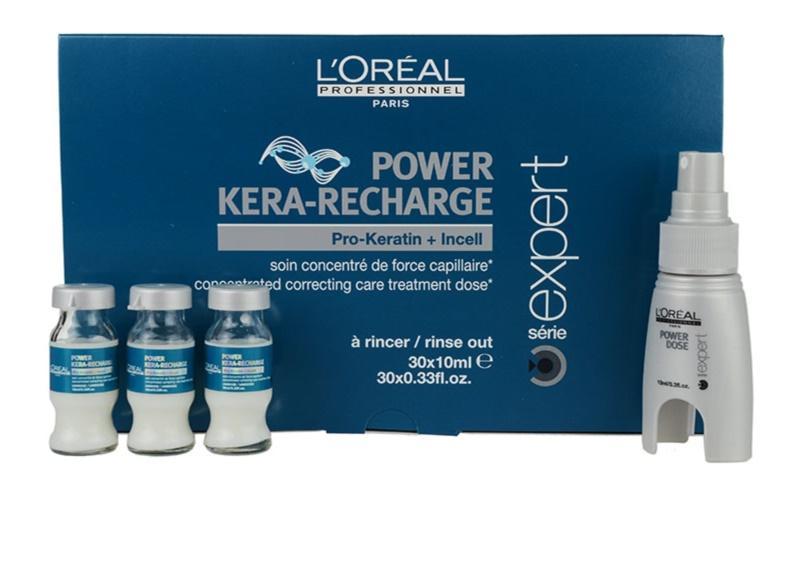 how to use l oreal pro keratin refill