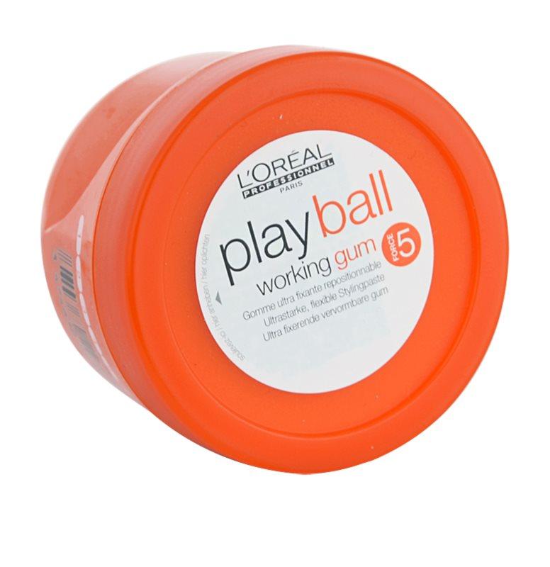 l or al professionnel play ball modellierendes fibre gum. Black Bedroom Furniture Sets. Home Design Ideas