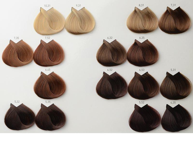 Light chocolate brown hair