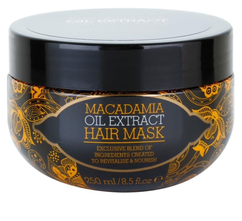 macadamia oil extract exclusive masque nourrissant cheveux pour tous types de cheveux. Black Bedroom Furniture Sets. Home Design Ideas