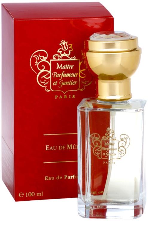 Maître Eau De Parfumeur MureParfum Gantier Femme Et Pour nwk0X8PO