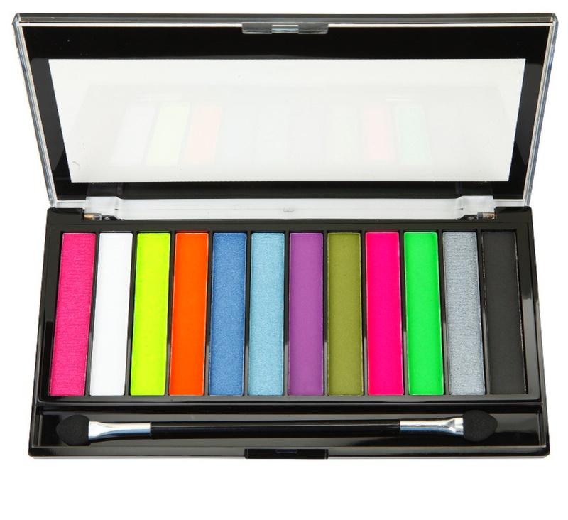makeup revolution acid brights palette mit lidschatten. Black Bedroom Furniture Sets. Home Design Ideas
