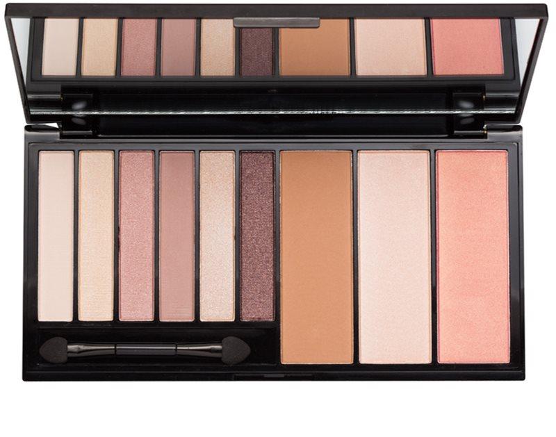 Spiegel Make Up : Makeup revolution euphoria bare lidschatten kontourpalette inkl