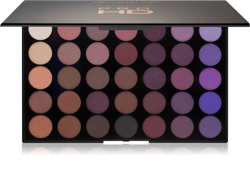makeup revolution pro hd palette mit lidschatten. Black Bedroom Furniture Sets. Home Design Ideas