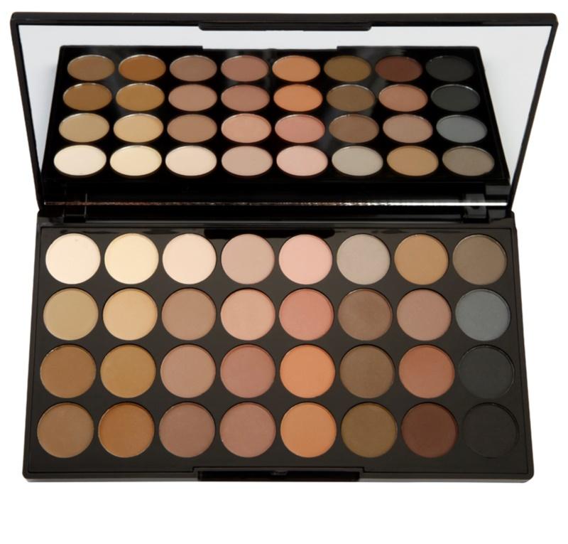 makeup revolution flawless matte palette mit lidschatten. Black Bedroom Furniture Sets. Home Design Ideas