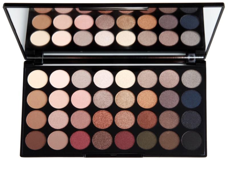 makeup revolution flawless palette mit lidschatten. Black Bedroom Furniture Sets. Home Design Ideas
