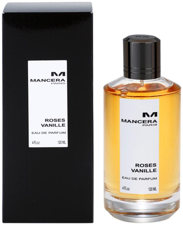 mancera roses vanille eau de parfum f r damen 120 ml. Black Bedroom Furniture Sets. Home Design Ideas