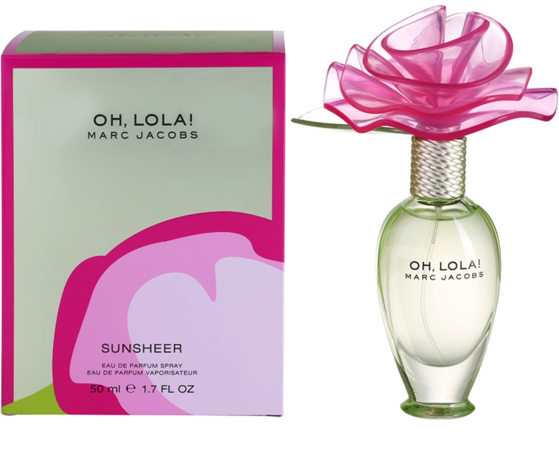 marc jacobs oh lola sunsheer eau de parfum f r damen 50 ml. Black Bedroom Furniture Sets. Home Design Ideas