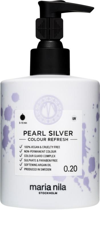 maria nila colour refresh pearl silver jemn vy ivuj c. Black Bedroom Furniture Sets. Home Design Ideas