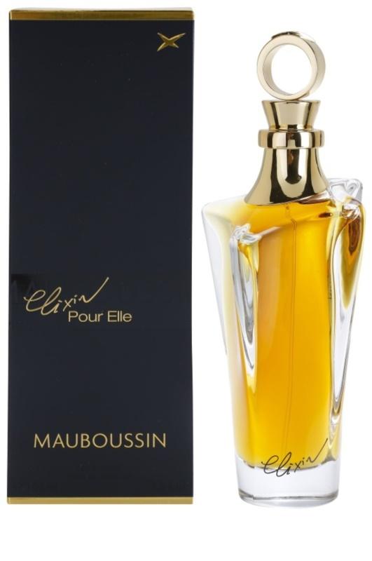 mauboussin mauboussin elixir pour elle eau de parfum pour femme 100 ml. Black Bedroom Furniture Sets. Home Design Ideas