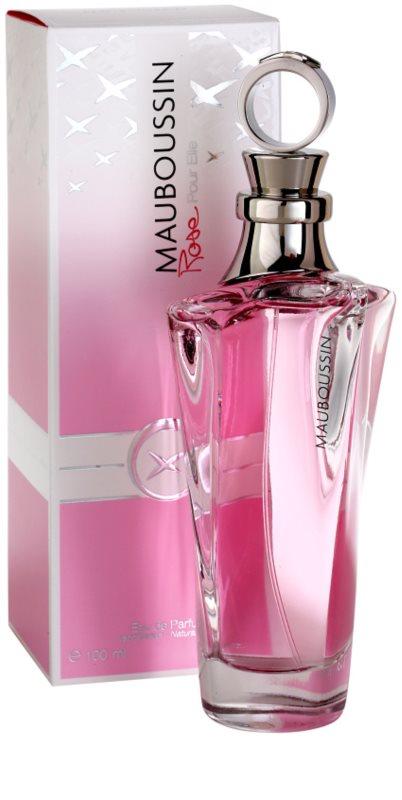 mauboussin rose pour elle eau de parfum pour femme 100 ml. Black Bedroom Furniture Sets. Home Design Ideas