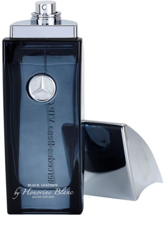 mercedes benz vip club black leather toaletn voda pro. Black Bedroom Furniture Sets. Home Design Ideas