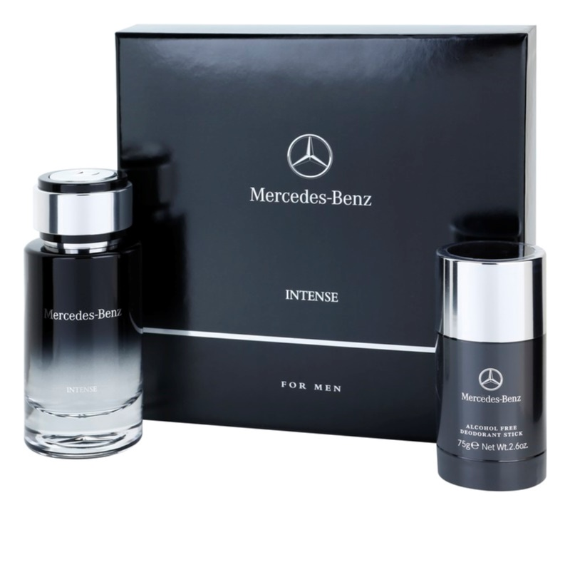 Mercedes benz for men intense gift set i for Mercedes benz intense perfume
