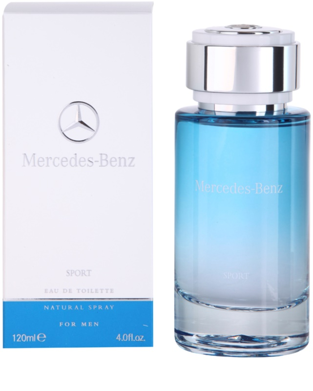 mercedes benz sport eau de toilette para hombre 120 ml. Black Bedroom Furniture Sets. Home Design Ideas