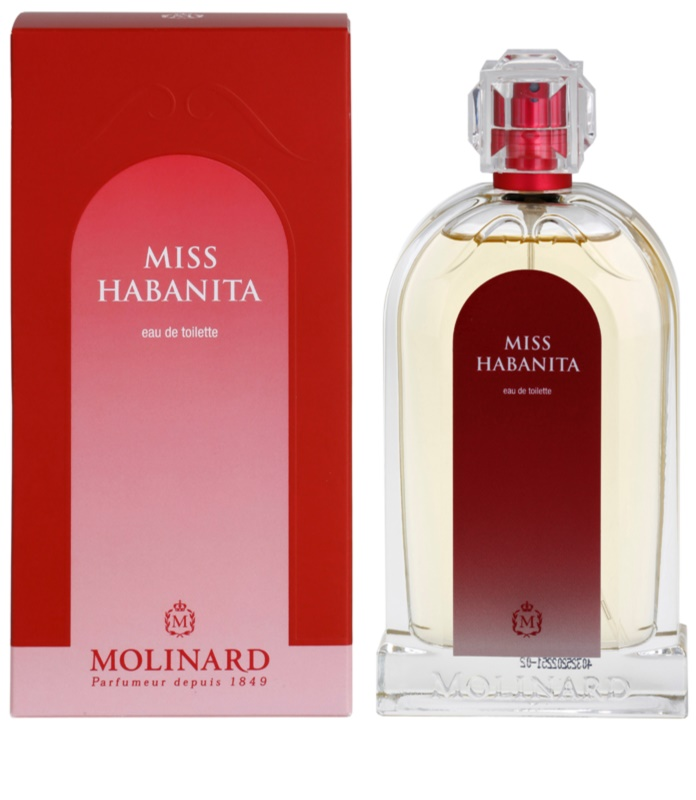 molinard habanita miss habanita eau de toilette for women 100 ml. Black Bedroom Furniture Sets. Home Design Ideas