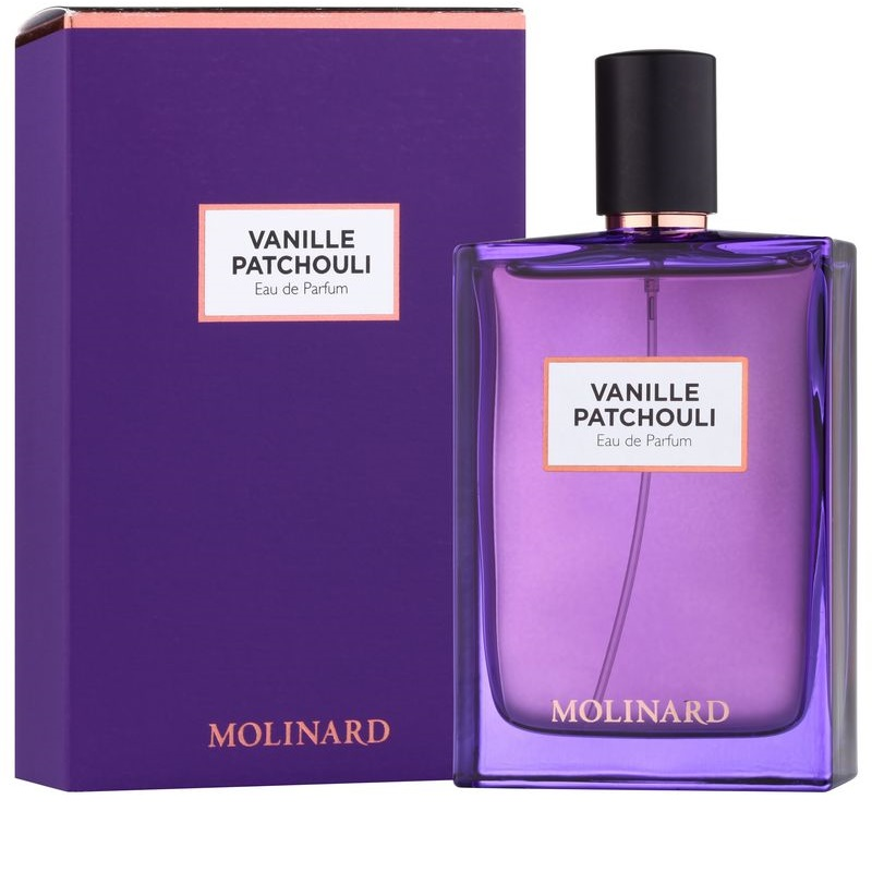 molinard vanille patchouli eau de parfum mixte 75 ml. Black Bedroom Furniture Sets. Home Design Ideas