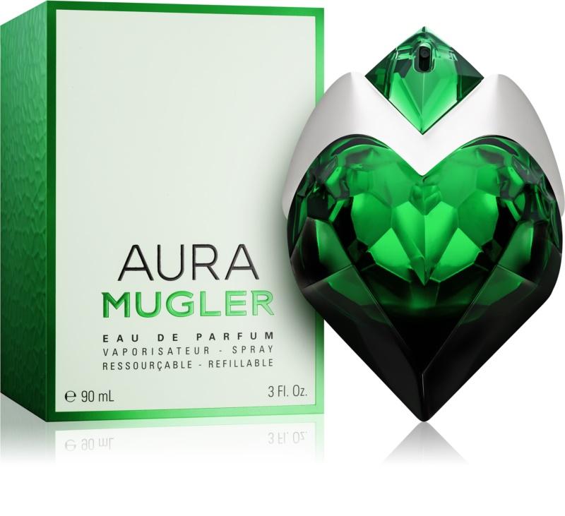 mugler aura eau de parfum pentru femei 90 ml. Black Bedroom Furniture Sets. Home Design Ideas