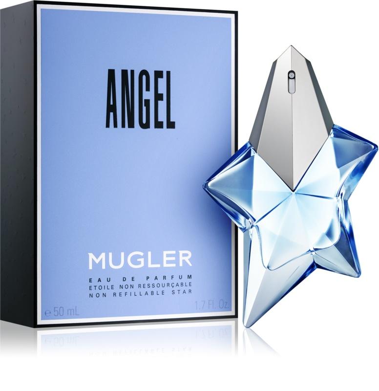 mugler angel eau de parfum for women 50 ml. Black Bedroom Furniture Sets. Home Design Ideas