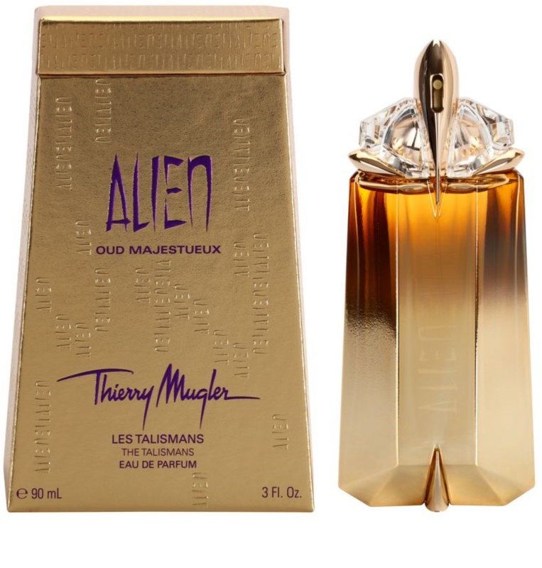 mugler alien oud majestueux eau de parfum for women 90 ml. Black Bedroom Furniture Sets. Home Design Ideas