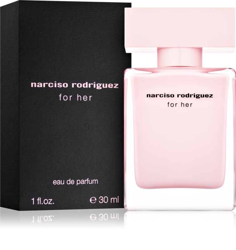 narciso rodriguez for her eau de parfum pour femme 30 ml. Black Bedroom Furniture Sets. Home Design Ideas