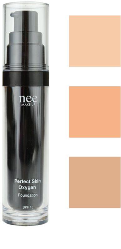 NEE MAKE UP PERFECT SKIN OXYGEN FOUNDATION tekutý make-up  527c6f164a4