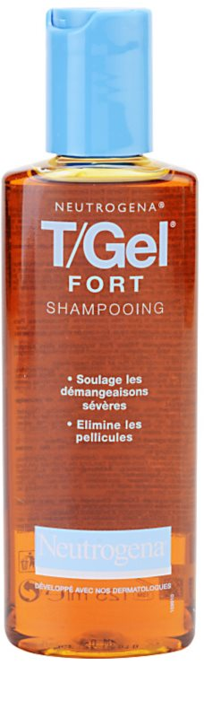 neutrogena t gel forte shampoo gegen schuppen f r trockene und juckende kopfhaut. Black Bedroom Furniture Sets. Home Design Ideas