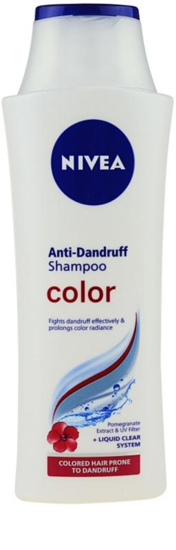 nivea color shampoo gegen schuppen f r gef rbtes haar. Black Bedroom Furniture Sets. Home Design Ideas