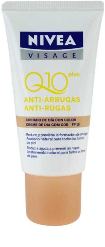 NIVEA VISAGE Q10 PLUS crema con color antiarrugas - notino.es
