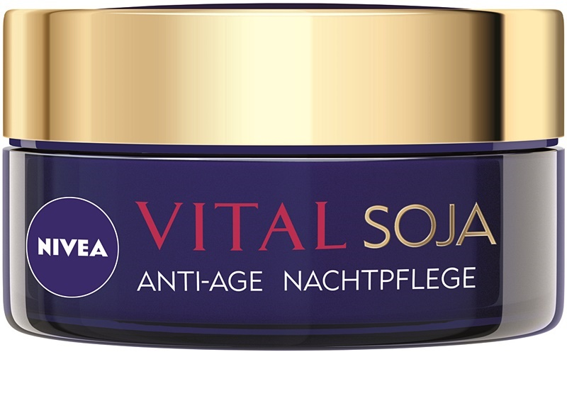 nivea visage vital multi active cr me de nuit anti rides. Black Bedroom Furniture Sets. Home Design Ideas