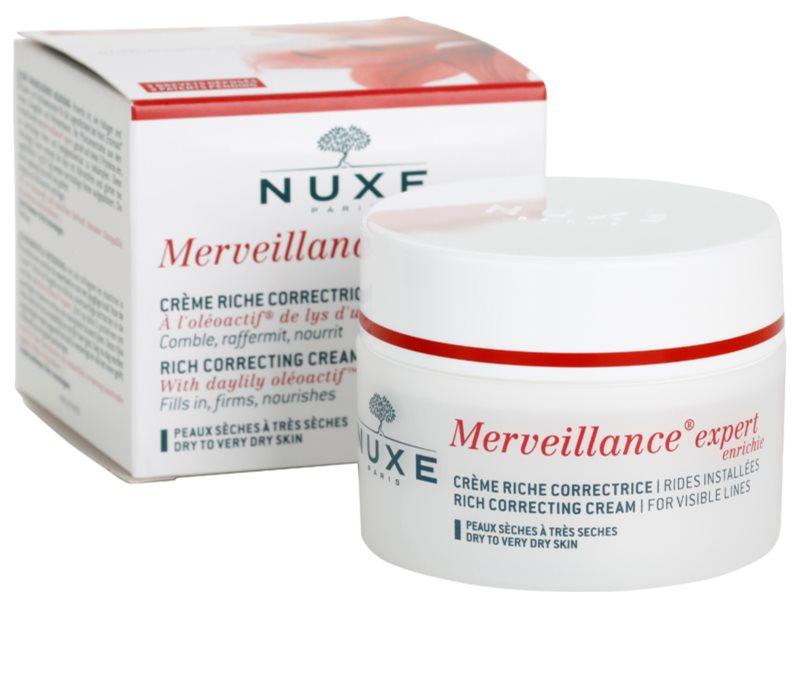 Nuxe Merveillance, crema antirughe per pelli secche e..