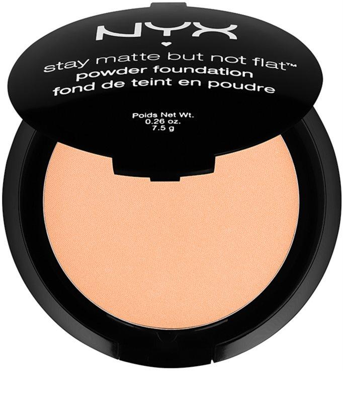 nyx professional makeup stay matte but not flat fond de teint poudre. Black Bedroom Furniture Sets. Home Design Ideas