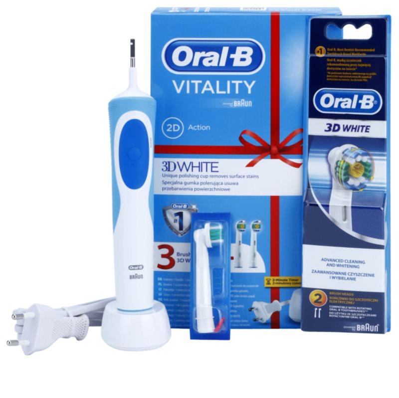 ORAL B VITALITY 3D WHITE D12.513W brosse à dents électrique   notino.fr fdd5567f2eee