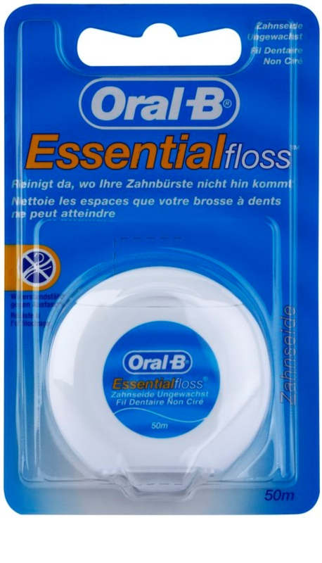 oral b essential floss fil dentaire non cir. Black Bedroom Furniture Sets. Home Design Ideas