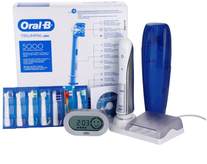 ORAL B TRIUMPH 5000 D34.575.5X електрична зубна щітка  e1dc4b836e945