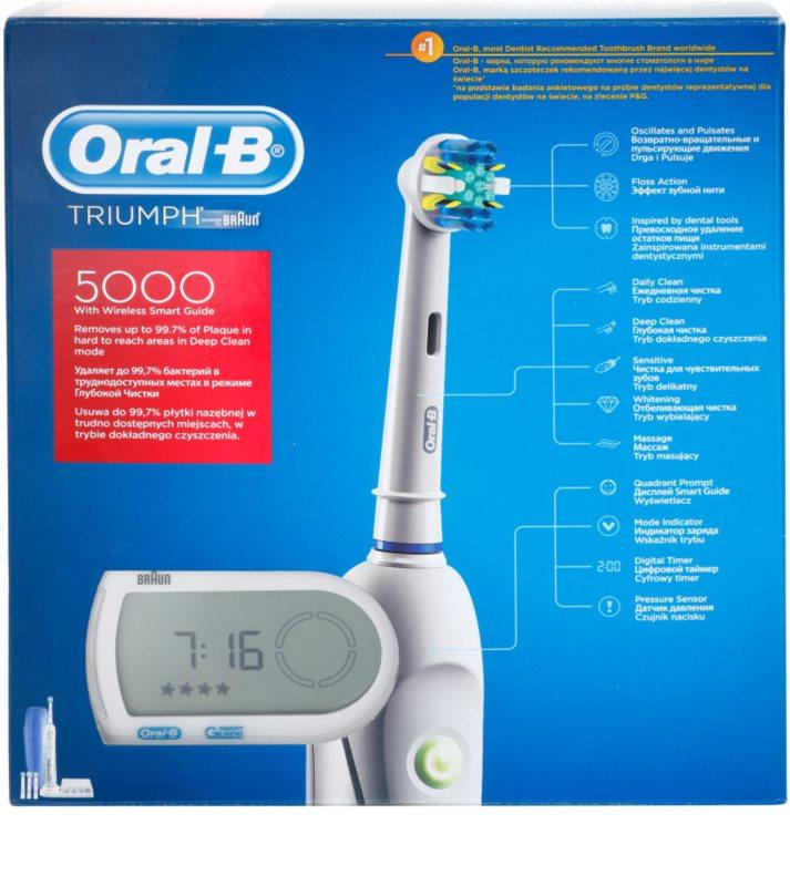 ... Oral B Triumph 5000 D34.545 електрична зубна щітка 3 ... 6ee12acc1a811
