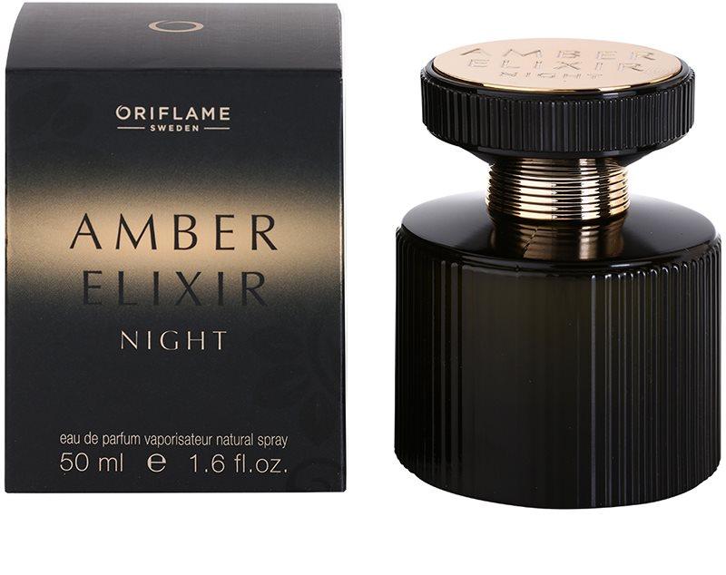 Oriflame Amber Elixir Night Eau De Parfum For Women 50 Ml Notino