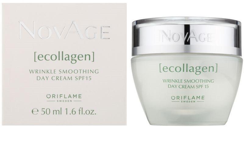 Oriflame Novage Ecollagen, λειαντική αντιρυτιδική κρέμα SPF