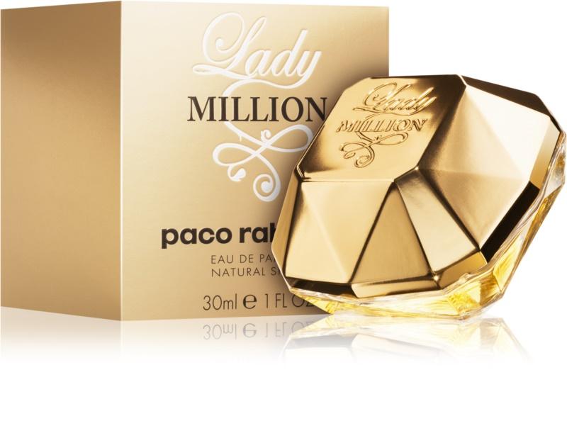 paco rabanne lady million eau de parfum for women 80 ml. Black Bedroom Furniture Sets. Home Design Ideas