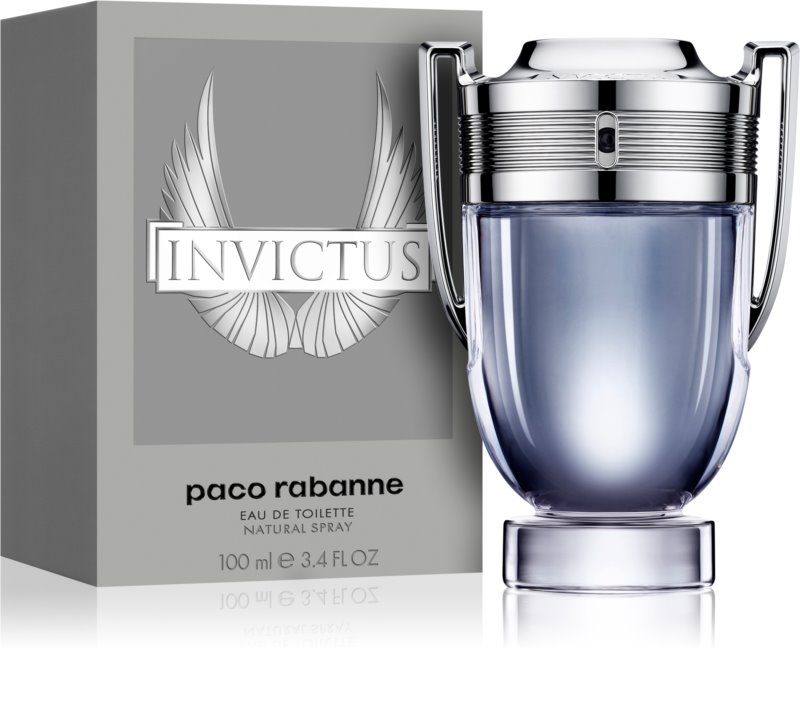 paco rabanne invictus eau de toilette f r herren 100 ml. Black Bedroom Furniture Sets. Home Design Ideas