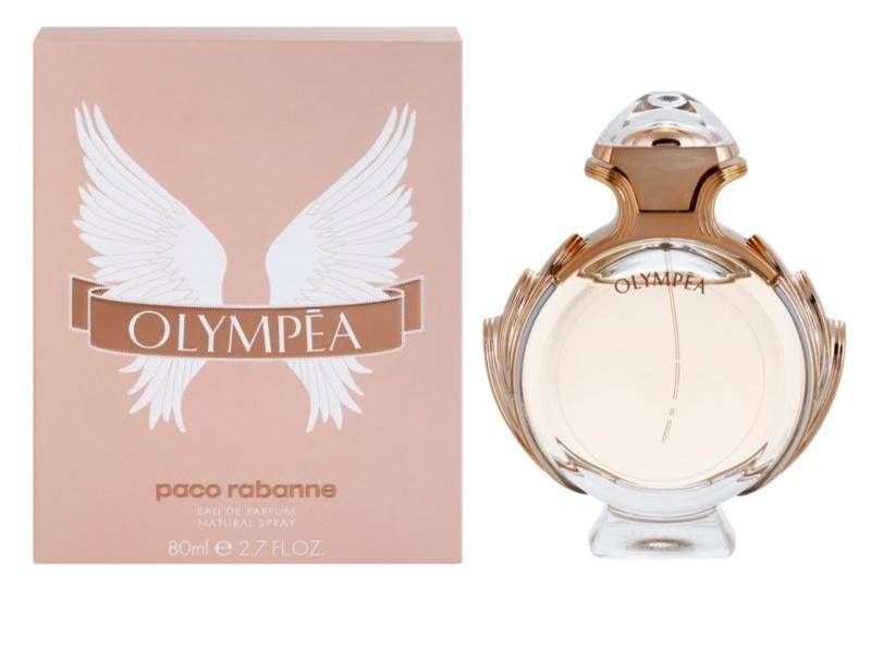 paco rabanne olympea eau de parfum f r damen 80 ml. Black Bedroom Furniture Sets. Home Design Ideas