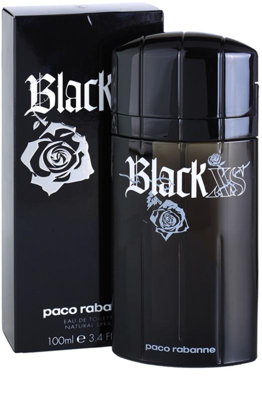 paco rabanne black xs eau de toilette for men 100 ml. Black Bedroom Furniture Sets. Home Design Ideas