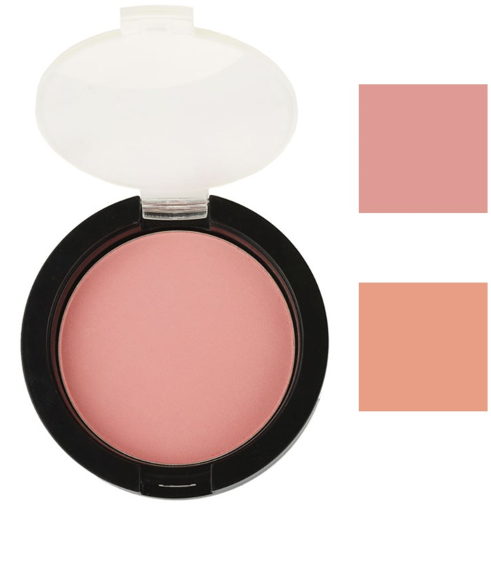 Mineral Powder Rouge-Charming Rose #1 is an all-natural talc-free powder blush suits all skin types.