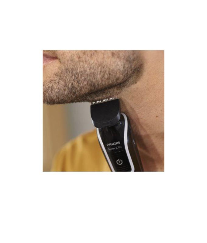 8730e7fea ... Philips Series 3000 Multigroom aparador de pelos corporal 6 em 1 12 ...