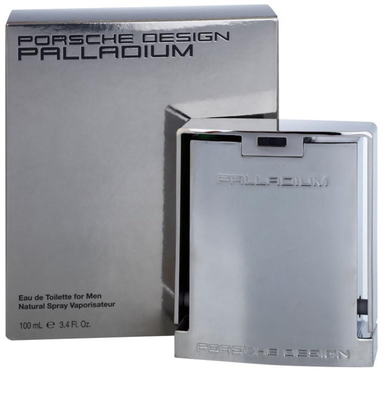 porsche design palladium eau de toilette for men 100 ml. Black Bedroom Furniture Sets. Home Design Ideas