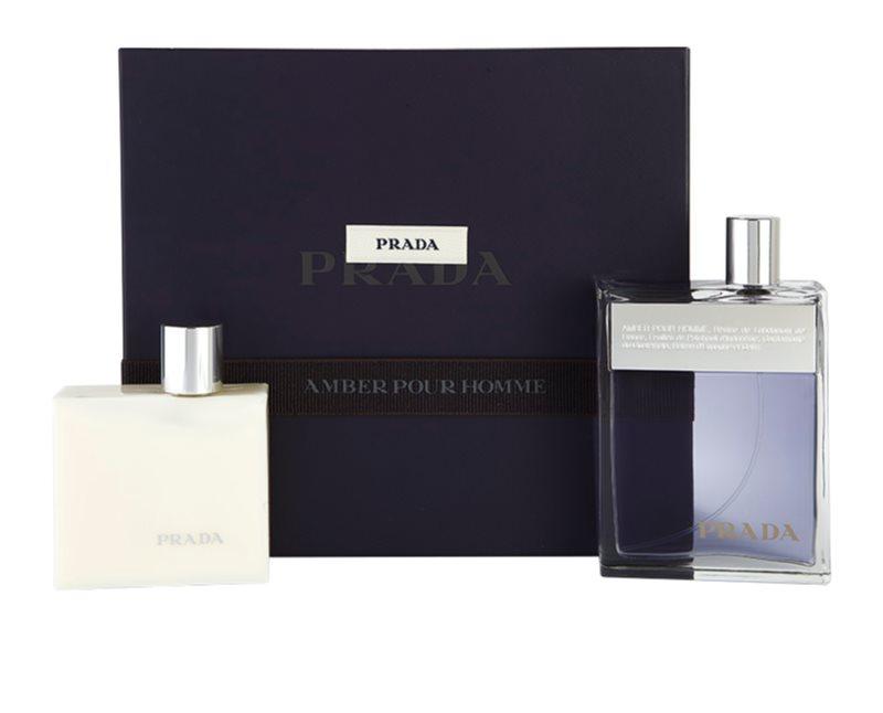 ee11a5cbf4b1 Prada Prada Amber Pour Homme, Gift Set I.   notino.co.uk