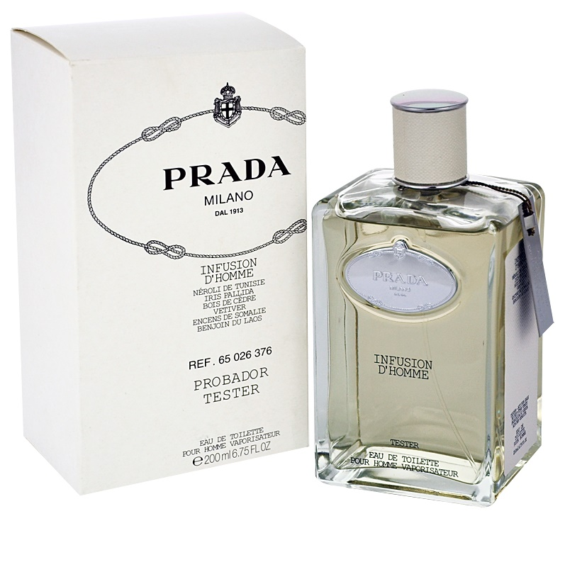 Prada Les Infusions Infusion d Homme, Eau de Toilette tester for Men 200 ml    notino.co.uk 8f289b60014