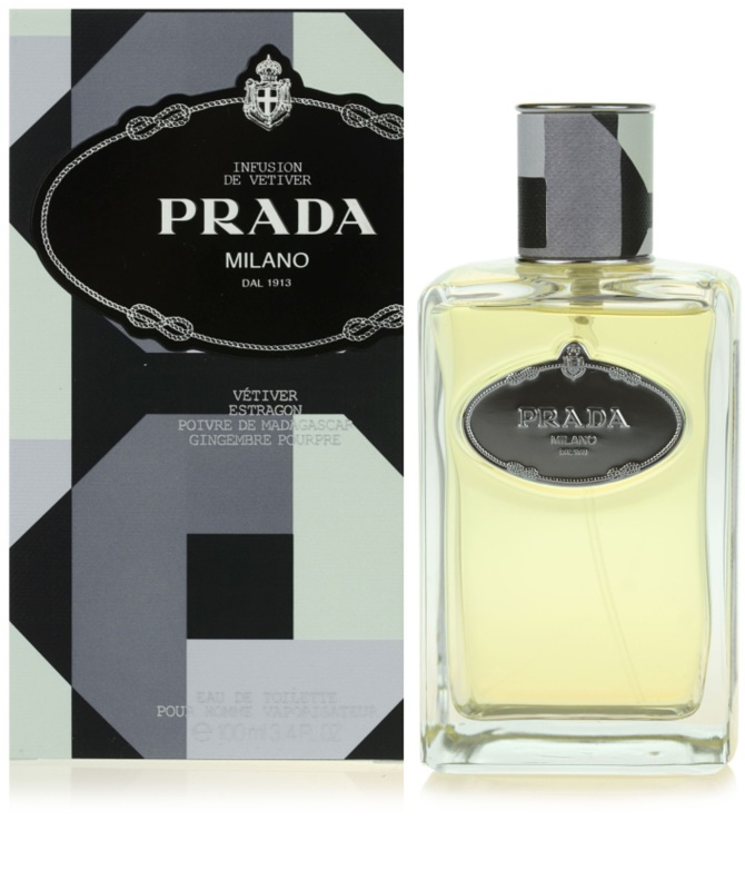 prada infusion de vetiver eau de toilette f r herren 100. Black Bedroom Furniture Sets. Home Design Ideas