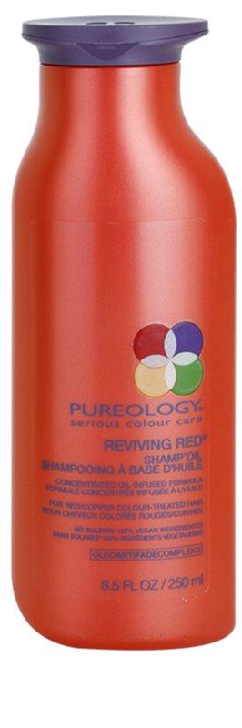 pureology reviving red l shampoo f r rote farbnuancen. Black Bedroom Furniture Sets. Home Design Ideas